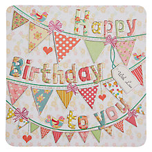 Buy Laura Darrington Happy Birthday To You Birthday Card Online at johnlewis.com