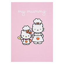 Buy Hype Hello Kitty My Mummy Birthday Card Online at johnlewis.com