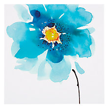 Buy Paper Rose Himalayan Poppy Greeting Card Online at johnlewis.com