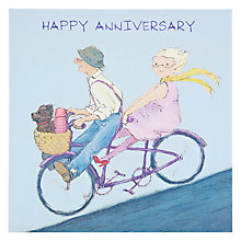 Buy Art Beat Happy Anniversary Card Online at johnlewis.com