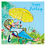 Buy Woodmansterne Lazing In The Sun Birthday Card Online at johnlewis.com