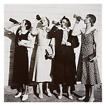 Buy Woodmansterne Four Ladies Drinking Beer Greeting Card Online at johnlewis.com