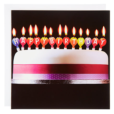 Buy Woodmansterne Let's Celebrate Birthday Card Online at johnlewis.com