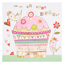 Buy Rachel Ellen Blooming Marvellous Love On Your Birthday Card Online at johnlewis.com