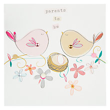 Buy Belly Button Parents To Be Greeting Card Online at johnlewis.com