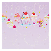Buy Mint Publishing Mum Cupcakes Birthday Card Online at johnlewis.com