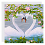 Buy Woodmansterne Mute Swans Greeting Card Online at johnlewis.com
