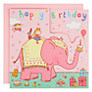 Buy Twizler Pink Elephant Birthday Card Online at johnlewis.com