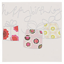 Buy Caroline Gardner Presents Birthday Card Online at johnlewis.com
