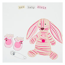 Buy Belly Button Marmalade New Baby Girl Card Online at johnlewis.com