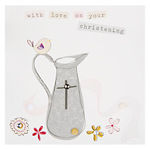 Buy Belly Button Designs Marmalade Christening Card Online at johnlewis.com