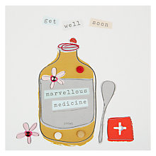 Buy Belly Button Get Well Soon Card Online at johnlewis.com