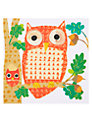 Art Press Owls On Branch Greeting Card