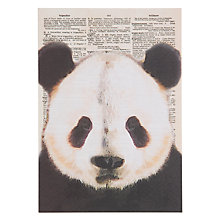 Buy Art Press Panda Greeting Card Online at johnlewis.com