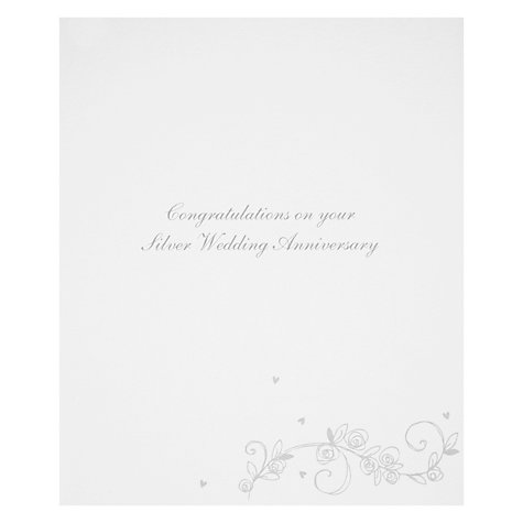 Buy Woodmansterne Silver Anniversary Card Online at johnlewis.com