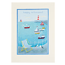 Buy James Ellis Stevens Harbour Retirement Greeting Card Online at johnlewis.com