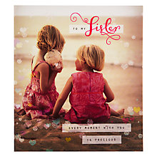 Buy Pigment Girls On Beach Precious Moments Birthday Card Online at johnlewis.com