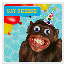 Buy Paperlink Say Cheese Birthday Card Online at johnlewis.com