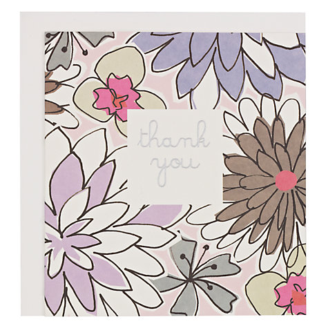 Buy Caroline Gardner Thank You Card Online at johnlewis.com