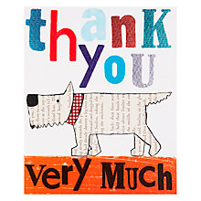 Buy Really Good Thank You Card Online at johnlewis.com