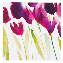 Buy Paper Rose Tulips Greeting Card Online at johnlewis.com