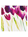 Paper Rose Tulips Greeting Card