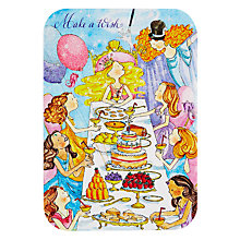 Buy Woodmansterne Princess Birthday Meal Birthday Card Online at johnlewis.com