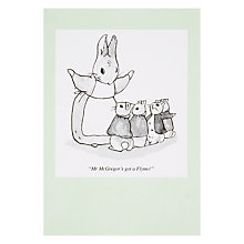 Buy Woodmansterne Rabbit with Chopped Ears Greeting Card Online at johnlewis.com