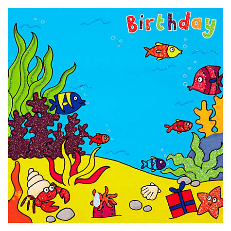 Buy Twizler Seaworld Birthday Card Online at johnlewis.com