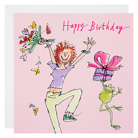 Buy Woodmansterne Holding up Shelves Birthday Card Online at johnlewis.com