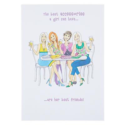 Paperlink Best Accessories Birthday Card