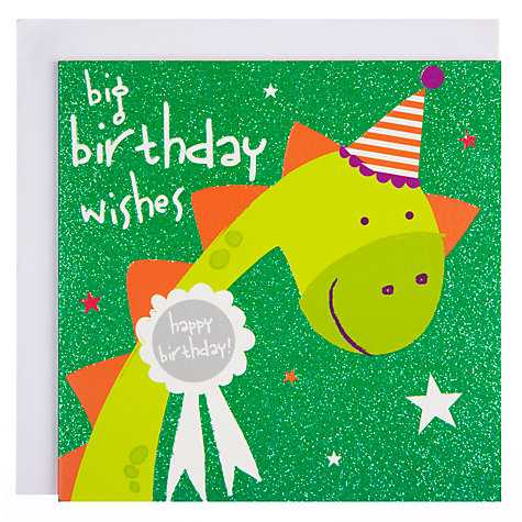 Buy Belly Button Sherbet Birthday Wishes Card Online at johnlewis.com
