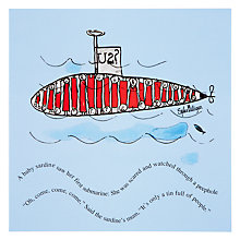 Buy Woodmansterne Sardine Submarine Greeting Card Online at johnlewis.com