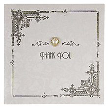 Buy Five Dollar Shake Thank You Card Online at johnlewis.com