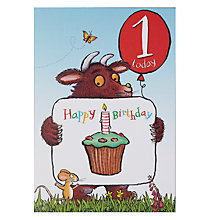 Buy Woodmansterne Gruffalo 2nd Birthday Card Online at johnlewis.com