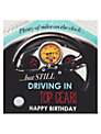 Hotchpotch Driving in Top Gear Birthday Card