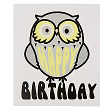 Buy Portfolio Wise William Birthday Card Online at johnlewis.com