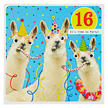 Buy Paperlink 16th Birthday Card Online at johnlewis.com