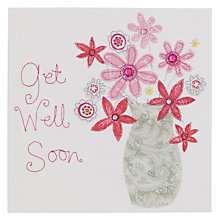 Buy Blue Eyed Sun Vintage Get Well Soon Card Online at johnlewis.com