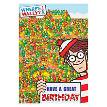 Buy Woodmansterne The Fruit Fight Birthday Card Online at johnlewis.com