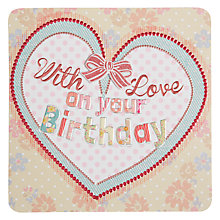 Buy Laura Darrington With Love Birthday Card Online at johnlewis.com