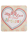 Laura Darrington With Love Birthday Card