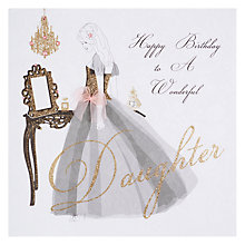 Buy Five Dollar Shake Wonderful Daughter Birthday Card Online at johnlewis.com