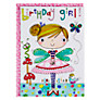 Buy Rachel Ellen Wibbly Wobbly Lane Birthday Girl Fifi Fairy Card Online at johnlewis.com