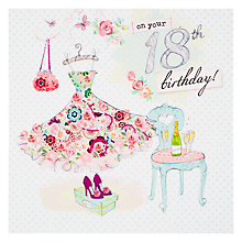 Buy Hotchpotch 18th Birthday Card Online at johnlewis.com
