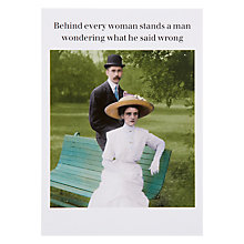 Buy Cath Tate Cards Behind Every Woman Greeting Card Online at johnlewis.com