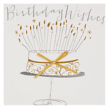 Buy Belly Button Birthday Wishes Birthday Card Online at johnlewis.com
