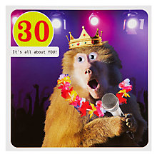 Buy Paperlink 30th Birthday Card Online at johnlewis.com