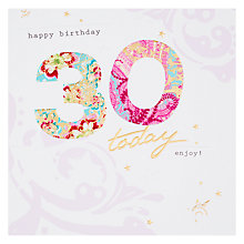 Buy Hotch Potch Happy 30th Birthday Card Online at johnlewis.com
