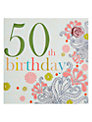 Laura Darrington 50th Birthday Card